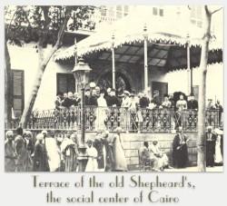 Shepheard's Hotel terrace